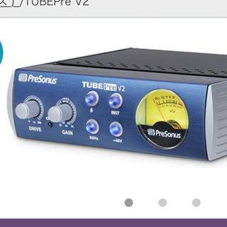 マイクプリアンプ PRESONUS ( プレソナス )  TUBEPre V2(パワーアンプ)