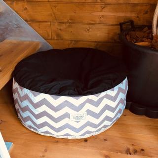 スヌーピー(SNOOPY)のワンコ用ベッド クッション 犬 猫ペットに(犬)