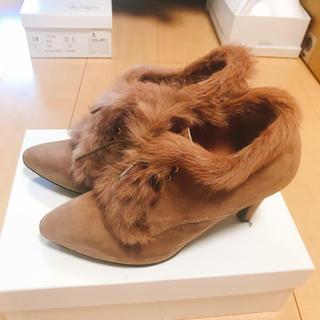 ギンザカネマツ(GINZA Kanematsu)のカネマツ ブーツ ファー付き 23cm(ブーツ)