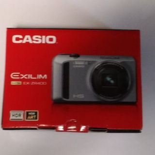 カシオ(CASIO)の【美品】CASIO EXILIM EX-ZR400 SR(コンパクトデジタルカメラ)
