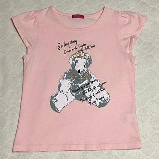 ジーユー(GU)のクマ柄Tシャツ(ピンク)140cm♪(その他)