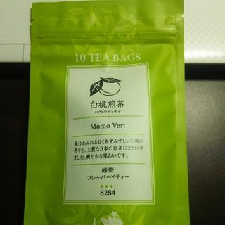 白桃煎茶 ルピシア  2.5×10入(茶)