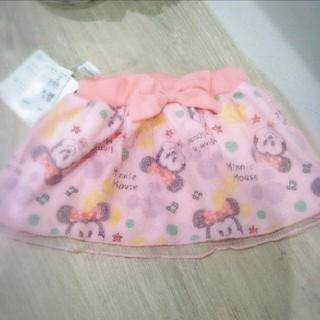 ディズニー(Disney)の【新品タグ付き】ミニースカート サイズ70(スカート)