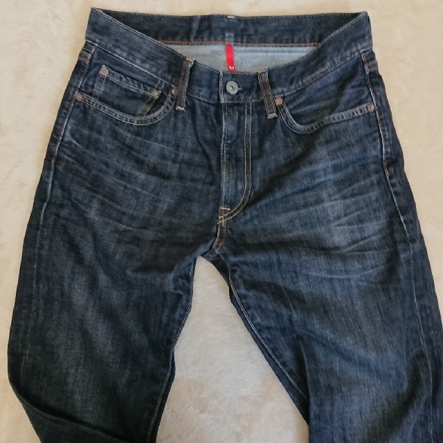 UNIQLO(ユニクロ)のメンズジーンズ メンズのパンツ(デニム/ジーンズ)の商品写真