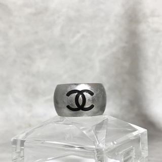 シャネル(CHANEL)の正規品 シャネル 指輪 ハート ココマーク シルバー 銀 リバーシブル リング(リング(指輪))