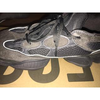アディダス(adidas)のyeezy 500 BLACK(スニーカー)