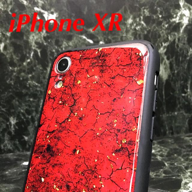 グッチ アイフォーンxr ケース 安い / アイフォンXR iPhoneXRケース☆クラック柄☆赤☆送料無料の通販 by ロゴ's shop|ラクマ
