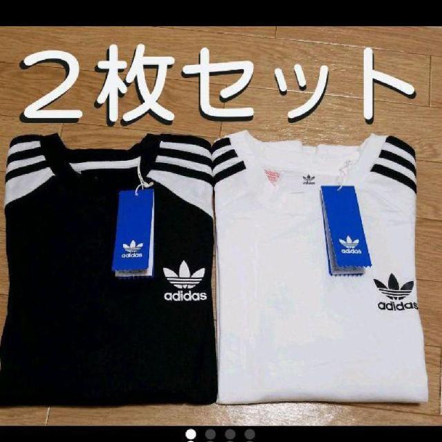 adidas(アディダス)の2枚組 ロンT adidas originals レディースのトップス(Tシャツ(長袖/七分))の商品写真