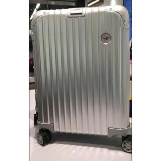リモワ(RIMOWA)の未使用 ドイツ限定 ルフトハンザ リモア スーツケース 34L シルバー(トラベルバッグ/スーツケース)