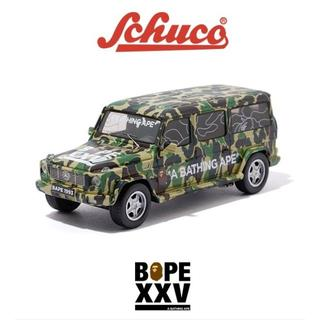 A BATHING APE - BAPE × Schuco G550L BAPE XXV メルセデスベンツ