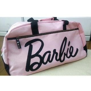 バービー(Barbie)のBarbie ボストンバッグ  ピンク 修学旅行などに(ボストンバッグ)