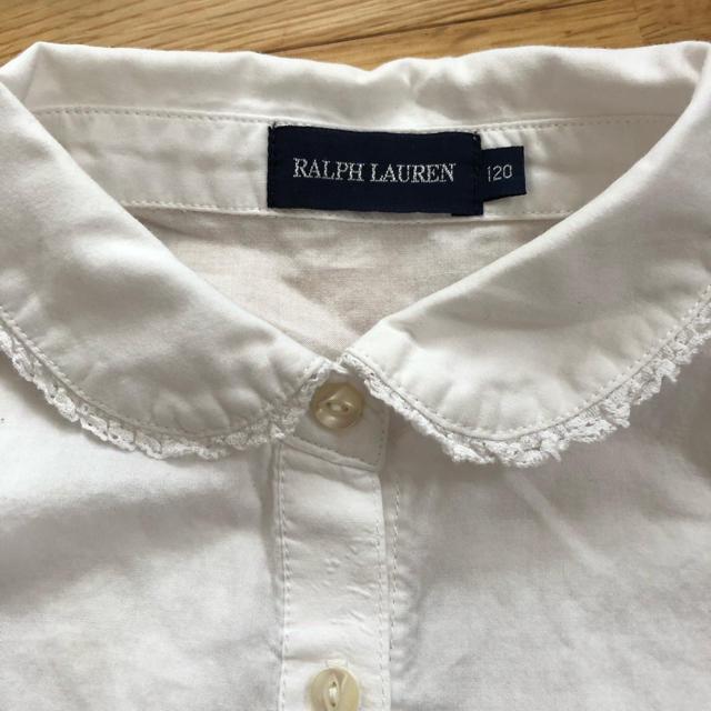 Ralph Lauren(ラルフローレン)の1/ラルフローレン ブラウス 120 キッズ/ベビー/マタニティのキッズ服 女の子用(90cm~)(その他)の商品写真