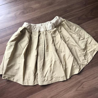 インパンツスカート 140㎝ ベージュ