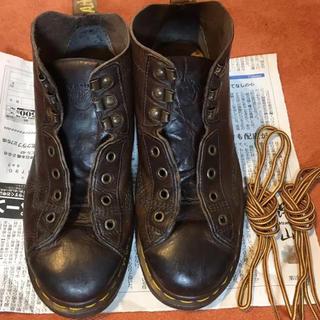ドクターマーチン(Dr.Martens)の【ドクターマーチン】中古 古着 ヴィンテージ モンキーブーツ UK6 英国製 靴(ブーツ)