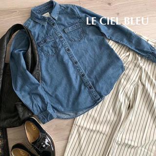 ルシェルブルー(LE CIEL BLEU)のwds様専用✴︎ルシェルブルー✴︎定番デニムシャツ♡(シャツ/ブラウス(長袖/七分))