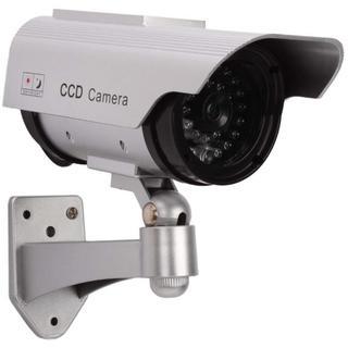 防犯カメラ  ダミー  LED 常時点滅で不審者を追い出す