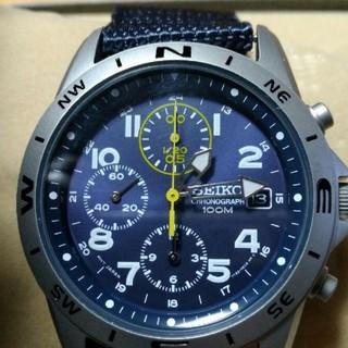 セイコー(SEIKO)のSEIKO海外モデル ミリタリー 未使用品‼️(腕時計(アナログ))