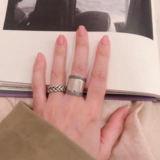 トゥデイフル(TODAYFUL)のシルバー925 ローリング silver925 リング(リング(指輪))