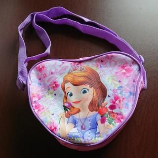 Disney - プリンセスソフィア  ハートのショルダーバッグ