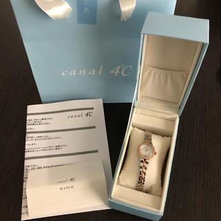 カナルヨンドシー(canal4℃)のcanal4℃ 腕時計 新品未使用(腕時計)