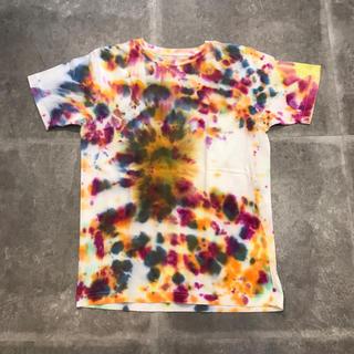 ロンハーマン(Ron Herman)の古着 タイダイ柄 tシャツ used ビンテージ vintage マーブル柄 1(Tシャツ/カットソー(半袖/袖なし))
