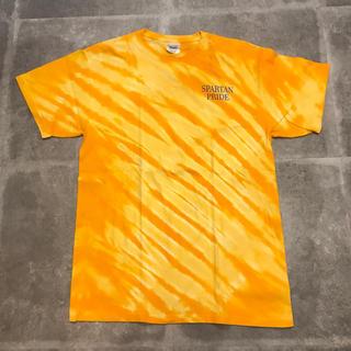 ロンハーマン(Ron Herman)の古着 タイダイ柄 tシャツ used ビンテージ vintage オレンジ(Tシャツ/カットソー(半袖/袖なし))