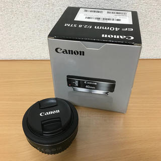Canon - Canonキヤノン 単焦点レンズ EF40mm F2.8 STM フルサイズ対応