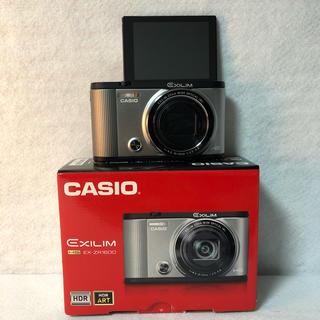 カシオ(CASIO)の【付属品完備】CASIO デジタルカメラ EXILIM EX-ZR1600SR(コンパクトデジタルカメラ)