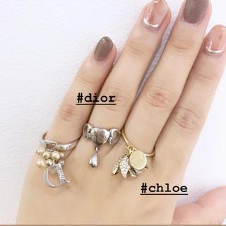 クリスチャンディオール(Christian Dior)のDior シルバーリング(リング(指輪))