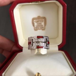 カルティエ(Cartier)のカルティエ ドラゴン リング フルダイヤモンド (リング(指輪))