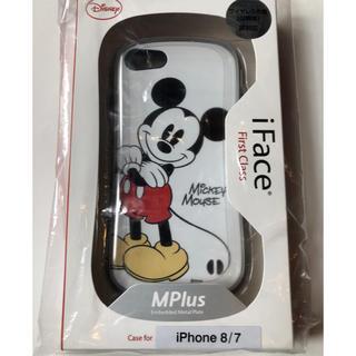 iPhone - 【新品未使用・正規品】iFace iPhone7,8用 ミッキーマウス