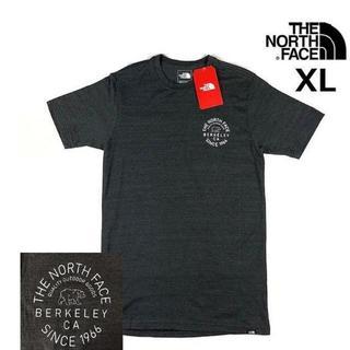THE NORTH FACE - ノースフェイス BEAR グラフィック 半袖Tシャツ(XL)グレー 180902