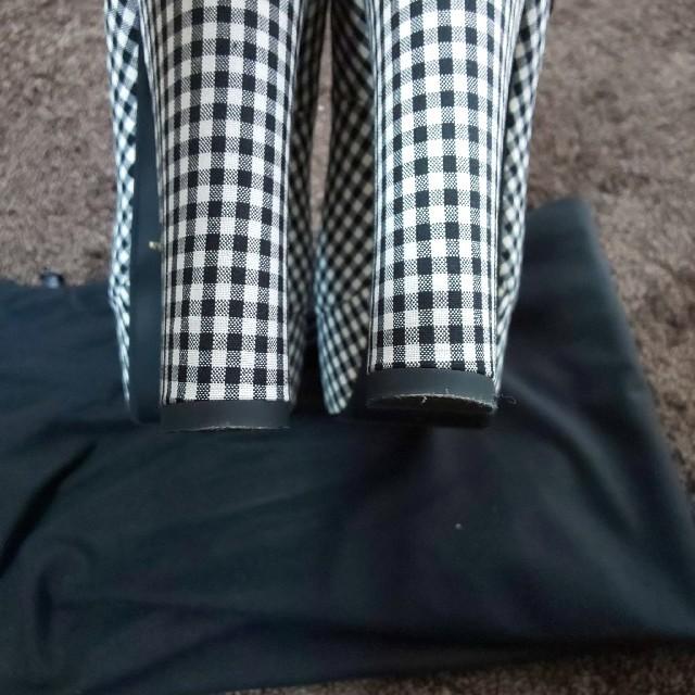 EATME(イートミー)のEAT MEギンガムチェックパンプス レディースの靴/シューズ(ハイヒール/パンプス)の商品写真