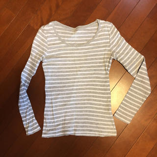 ジーユー(GU)のGU☆ボーダーロンT(Tシャツ(長袖/七分))