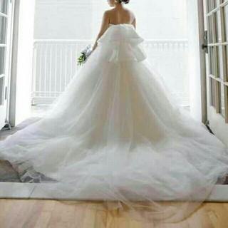 美品 梨花さん風 yns ウェディングドレス  バレリーナ ヴェラウォン