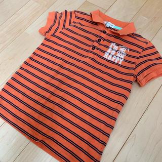 エニィファム(anyFAM)のエニィファム 130cm ボーダーポロシャツ(Tシャツ/カットソー)