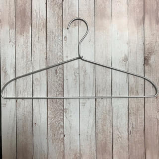 MUJI (無印良品) - 無印良品 アルミハンガー 41cm × 20本
