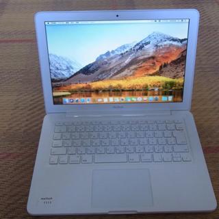 アップル(Apple)のMacBook Mid2010(ノートPC)