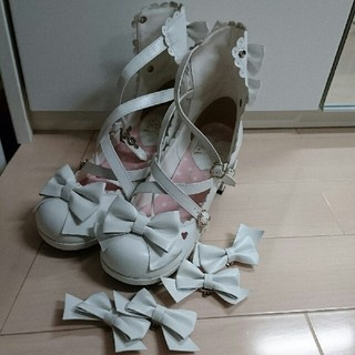 Angelic Pretty - アンジェリック お靴【売り切り価格に変更】