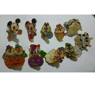 Disney - ディズニー ピンバッチ 10個set