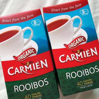 コストコ(コストコ)のCARMIEN カーミエン オーガニックルイボスティー2箱(茶)