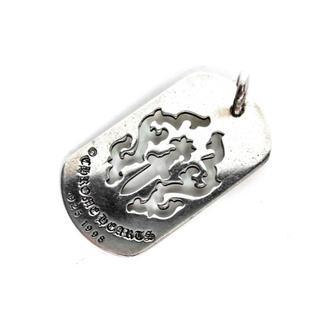 クロムハーツ(Chrome Hearts)のクロムハーツ CHROMEHEARTS■ラージドッグタグネックレストップ(ネックレス)