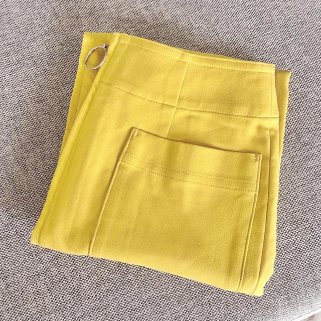 Noble(ノーブル)のNoble ジップタイトスカート ♥︎ レディースのスカート(ひざ丈スカート)の商品写真