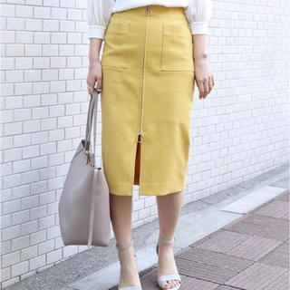 ノーブル(Noble)のNoble ジップタイトスカート ♥︎(ひざ丈スカート)