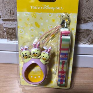 Disney - ポケットうさぴよカバー ピンク