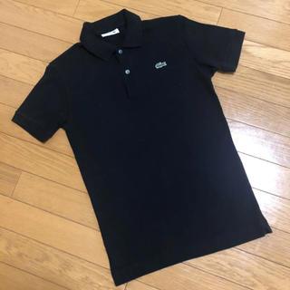 ラコステ(LACOSTE)のラコステ 黒 ブラック ポロシャツ(ポロシャツ)