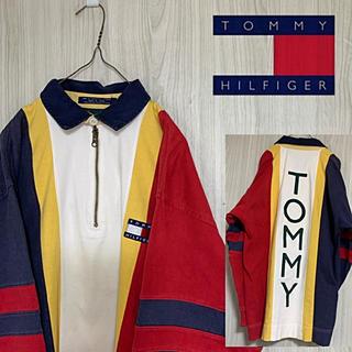 トミーヒルフィガー(TOMMY HILFIGER)の☆希少☆ 90s Tommy Hilfiger Sailing Gear(スウェット)