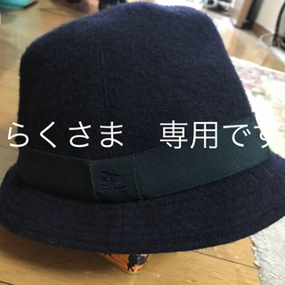 バーバリー(BURBERRY)のBurberry 幼児用帽子 冬用 サイズ52(帽子)