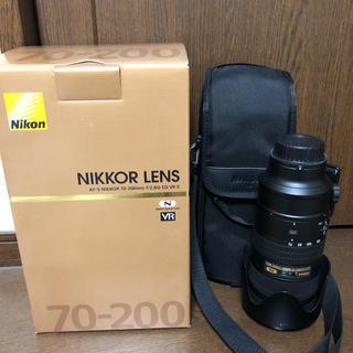 ニコン(Nikon)のNikon NIKKOR AF-S 70-200mm f/2.8g EDVR Ⅱ(レンズ(ズーム))