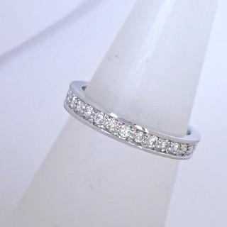 PT900 ダイヤモンド エタニティ リング(リング(指輪))
